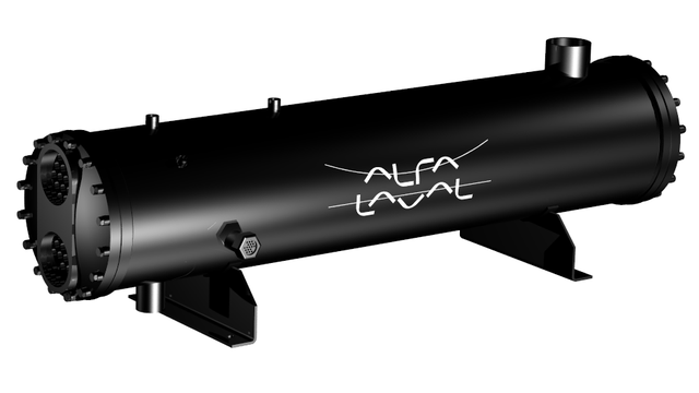 Alfa laval condenseur tubulaire